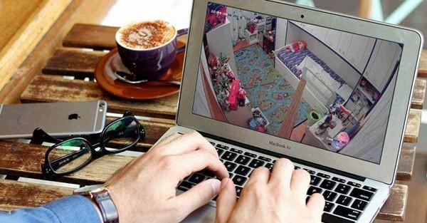 Присмотр за детьми через интернет